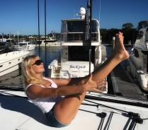 Navasana or Boat Pose