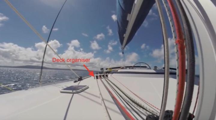 deck organiser