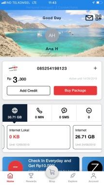 Telkomsel app