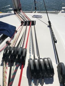 Jammers lines and deck gear by Harken SA